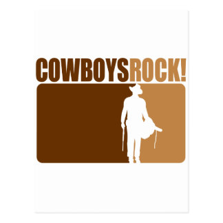 Cowboys Rocks! Postcard