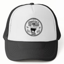 Cowboys Rope it like nothing Trucker Hat
