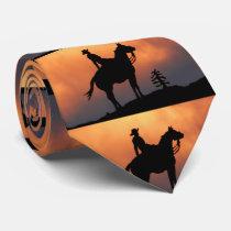 Cowboy's Silhouette Tie
