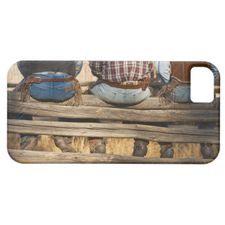 Cowboys sitting on fence iPhone SE/5/5s case