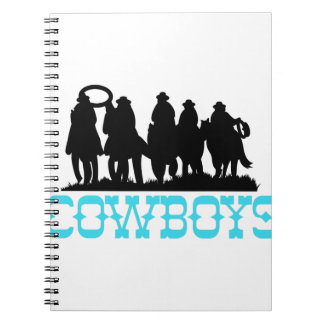 Cowboys Spiral Note Book