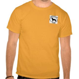 Cowdog Up Men's T pocket logo T-shirt