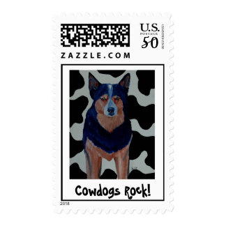 Cowdogs Rock! Postage