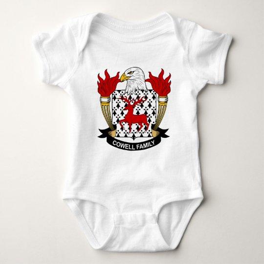 Cowell Family Crest Baby Bodysuit