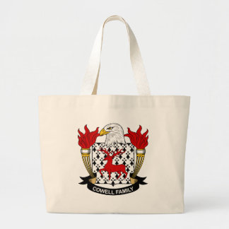 Cowell Family Crest Tote Bags