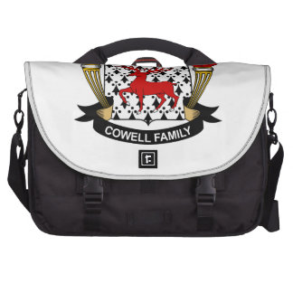 Cowell Family Crest Laptop Bag