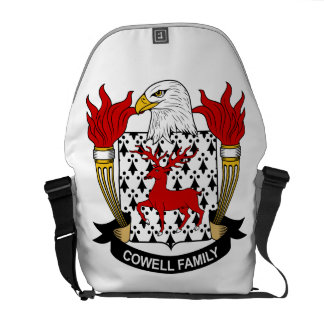 Cowell Family Crest Courier Bag