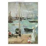 Cowes del oeste, isla del Wight, Morisot, arte del Tarjeton