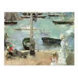 Cowes del oeste, isla del Wight, Morisot, arte del Tarjetas Postales