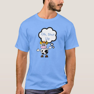 CowFace T shirt