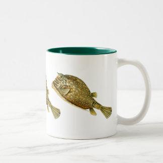 Cowfish Two-Tone Coffee Mug