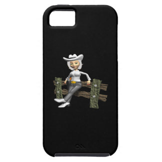 Cowgirl 10 iPhone 5 cover
