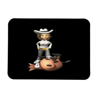 Cowgirl 12 flexible magnets
