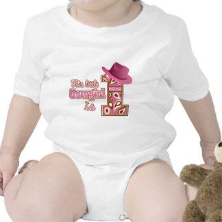 Cowgirl 1st Birthday T Shirts