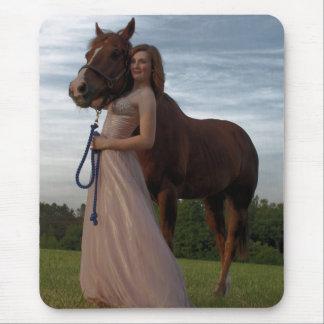Cowgirl 2 mousepad