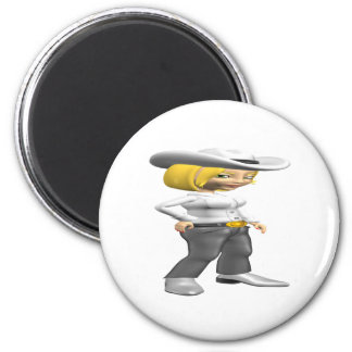 Cowgirl 3 magnets