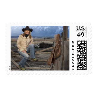 Cowgirl 3 postage