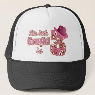 Cowgirl 3rd Birthday Trucker Hat