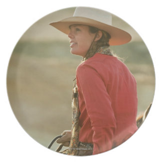 Cowgirl 4 party plates