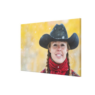 Cowgirl 6 canvas print