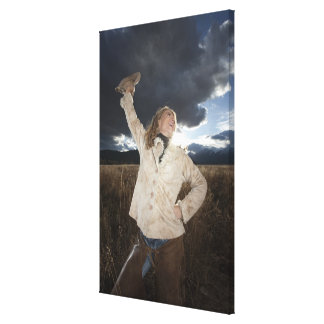 Cowgirl 8 canvas print