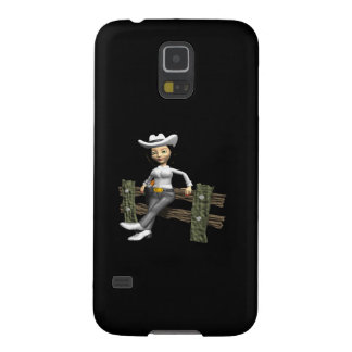 Cowgirl 8 galaxy s5 cases