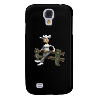 Cowgirl 8 samsung galaxy s4 cover