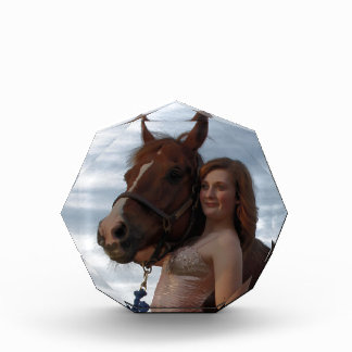 Cowgirl Acrylic Award