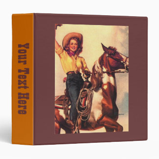 Cowgirl and Her Horse Binder