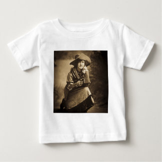 Cowgirl and Her Six Shooter Vintage Baby T-Shirt