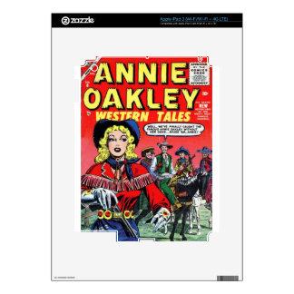 Cowgirl Annie Oakley iPad 3 Decal