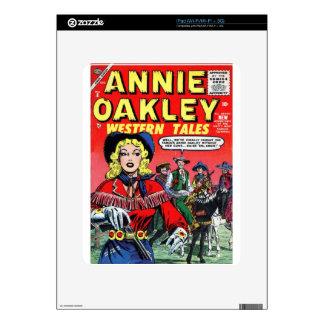 Cowgirl Annie Oakley iPad Skin