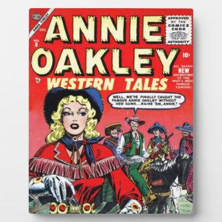 Cowgirl Annie Oakley Plaque