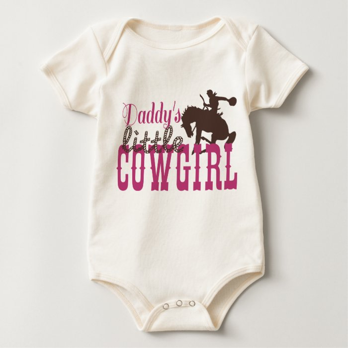 Cowgirl Baby and Toddler Clothes Baby Bodysuit