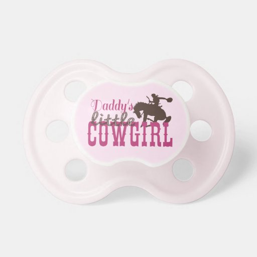 Cowgirl Baby and Toddler Clothes Pacifier