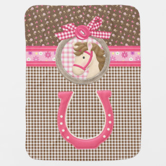 """""""Cowgirl"""" Baby Blanket"""