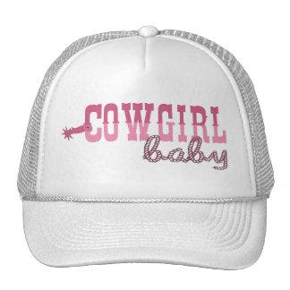 Cowgirl Baby Trucker Hat