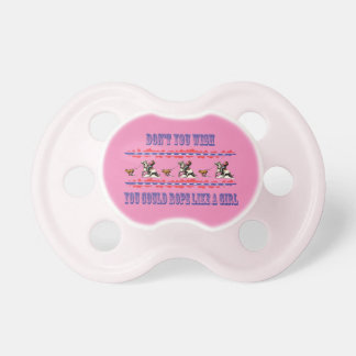 Cowgirl Baby Pacifier Calf Roper