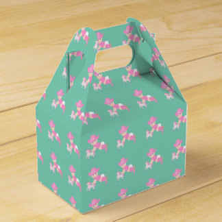 Cowgirl Baby Shower Or Birthday Party Favor Box