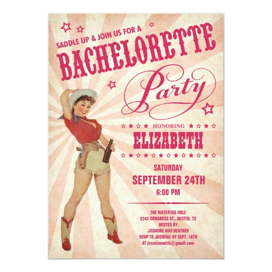 Cowgirl Bachelorette Party Invitations – Invitation Bachelorette Party
