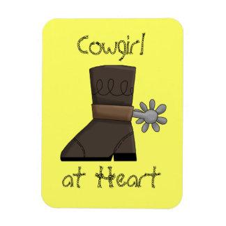 Cowgirl Boot Premium Flexi Magnet