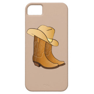 Cowgirl Boots and Hat iPhone SE/5/5s Case