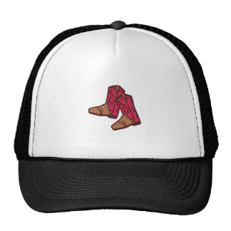 COWGIRL BOOTS TRUCKER HAT