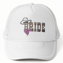 Cowgirl Bride Hat