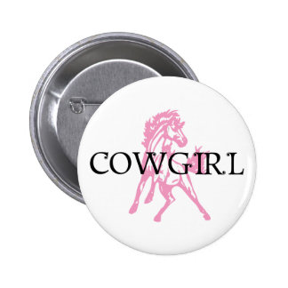 Cowgirl Bronc Horse (pink horse version) Pins