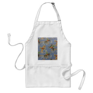 Cowgirl Bronc Rider Adult Apron