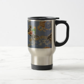 Cowgirl Bronc Rider Travel Mug
