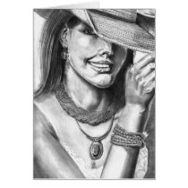 Cowgirl by JS Taylor Art Card