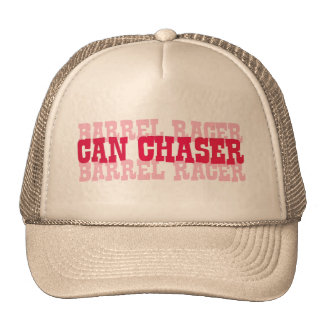 Cowgirl Can Chaser-Barrel Racer tees Trucker Hat