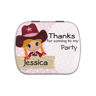 Cowgirl Candy Tin Favor